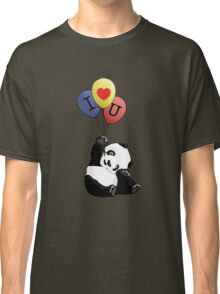 I Love You Panda Classic T-Shirt