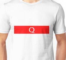 Alphabet Collection - Quebec Red Unisex T-Shirt