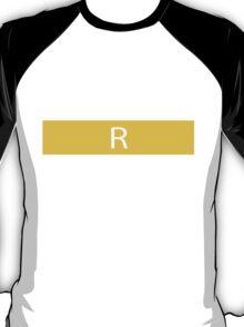 Alphabet Collection - Romeo Yellow T-Shirt