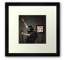 The Anonymous Photographer Framed Print