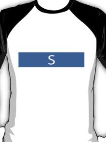 Alphabet Collection - Sierra Blue T-Shirt