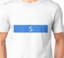 Alphabet Collection - Sierra Blue Unisex T-Shirt