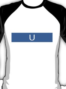 Alphabet Collection - Uniform Blue T-Shirt