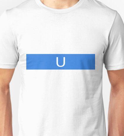 Alphabet Collection - Uniform Blue Unisex T-Shirt