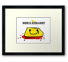 Utopia - Where Is Jessica Hyde? Framed Print