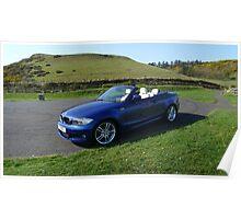 BMW Msport Convertible 1 Poster