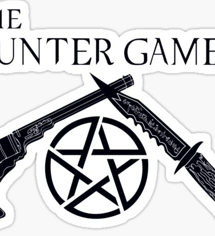 The Hunter Games (Black) Sticker