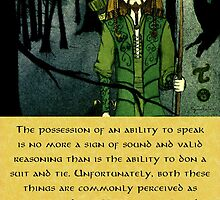 Ranger Hrothgar Says - Ability to Speak  by Toradellin