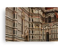 Duomo Facade Italy Canvas Print
