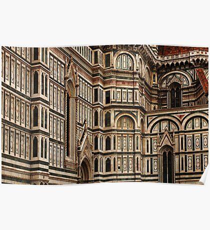 Duomo Facade Italy Poster