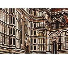 Duomo Facade Italy Photographic Print
