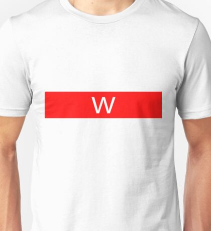 Alphabet Collection - Whiskey Red Unisex T-Shirt