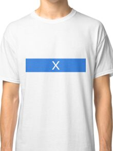 Alphabet Collection - X-Ray Blue Classic T-Shirt