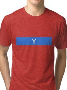 Alphabet Collection - Yankee Blue Tri-blend T-Shirt