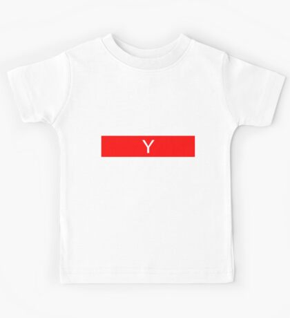 Alphabet Collection - Yankee Red Kids Tee