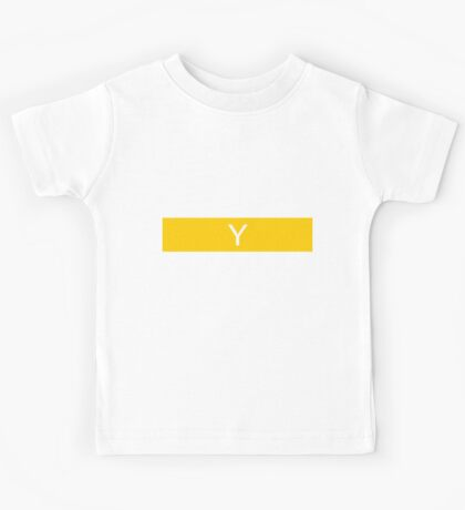 Alphabet Collection - Yankee Yellow Kids Tee