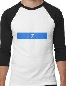 Alphabet Collection - Zulu Blue Men's Baseball ¾ T-Shirt