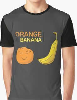 Orange is the new Banana Graphic T-Shirt