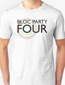 Bloc Party - Four (Black) T-Shirt