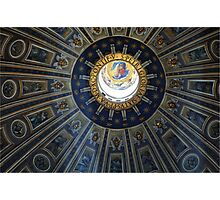 Duomo St. Peter's Basilica Rome Photographic Print