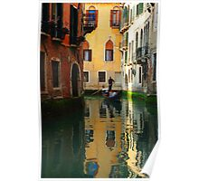 Reflections Of Venice Poster