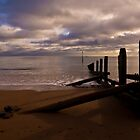 Groyne at Teignmouth Beach by Jay Lethbridge