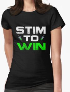 Stim to Win Womens Fitted T-Shirt