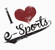 I Heart Esports by stimpackapparel