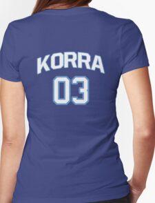 Team Korra Womens Fitted T-Shirt