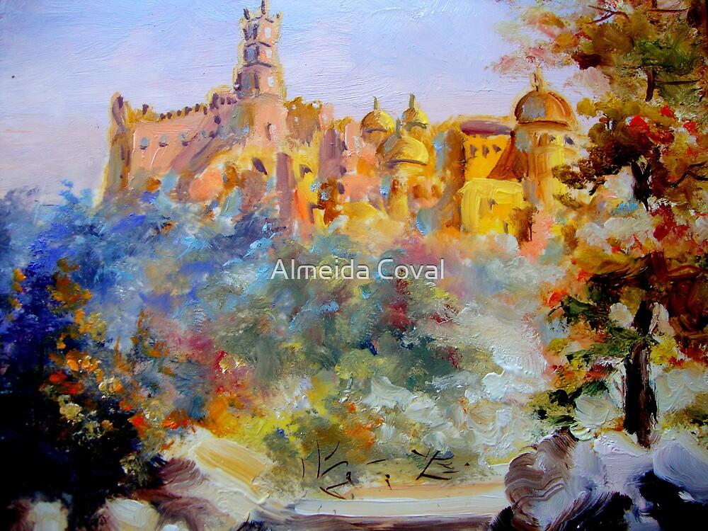 o palacio da pena em sintra..  by Almeida Coval
