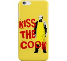 KISS THE COOK iPhone Case/Skin