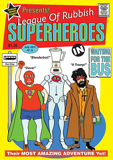 superheroes by Noah Reynolds