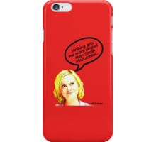 Nothing gets me more amped than Sarah MacLachlan iPhone Case/Skin