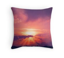 Blood Stained Brow, Hands & Feet Throw Pillow