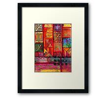 There are a Whole Lot of WINDOWS in this here House Framed Print