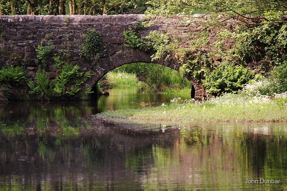 Bridge over Bentley Brook by John Dunbar