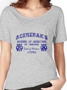Acererak's School of Jousting Women's Relaxed Fit T-Shirt