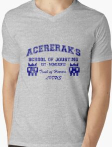 Acererak's School of Jousting Mens V-Neck T-Shirt