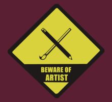 Beware of Artist by vivianz