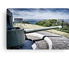 Coastal Defence Canvas Print