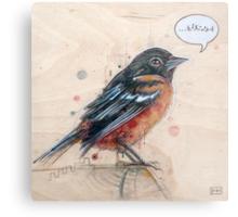 A Bird for Kurt Metal Print