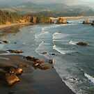 Crescent Beach & Cannon Beach by Randy Richards