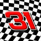 31 checkered flag by Mikeb10462