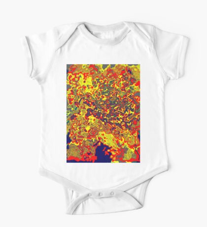 0621 Abstract Thought One Piece - Short Sleeve
