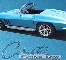 67 Corvette Stingray by freevette