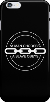 Man or Slave (White) by Midgetcorrupter