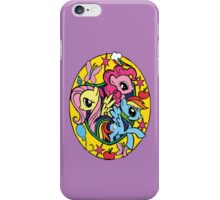 Fluttershy Pinkie Pie Rainbowdash iPhone Case/Skin