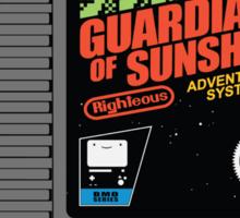 Guardians of Sunshine: Cartridge Sticker