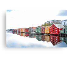 Trondheim - Norway III Canvas Print