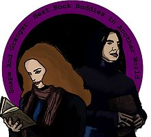 Snape and Granger: Book Buddies by btvskate